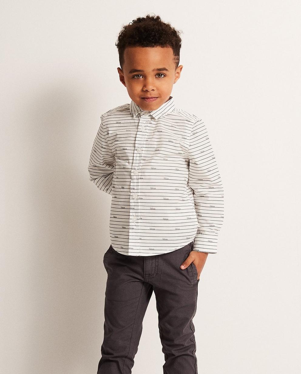 Hemden - AO2 - Hemd mit Allover-Autoprint